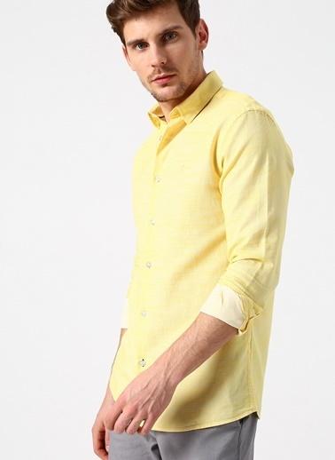 North Of Navy Gömlek Sarı